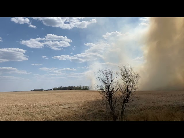 Wednesday Afternoon Polk County Grass Fire