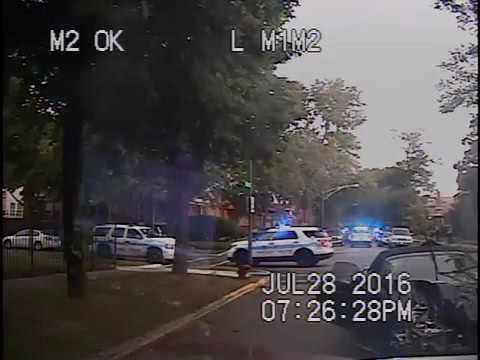 Dash Camera Video of the Chicago Police killing Paul O'Neal Cam #2
