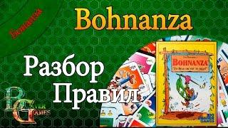 Bohnanza Настольная игра разбор правил и впечатления от игры