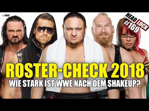#169: Der WWE Roster-Check 2018: Wie stark sind RAW und SmackDown! Live besetzt?