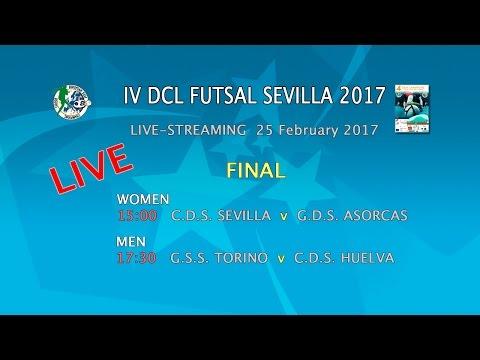 Live-Stream of  IV DCL FUTSAL SEVILLE  2017 - FINAL - 25.02.17 - MEN