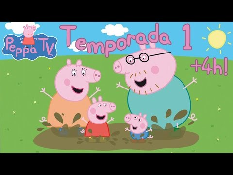 +4 HORAS Peppa Pig Temporada 1 Completa (52 Episodios) En Español Castellano