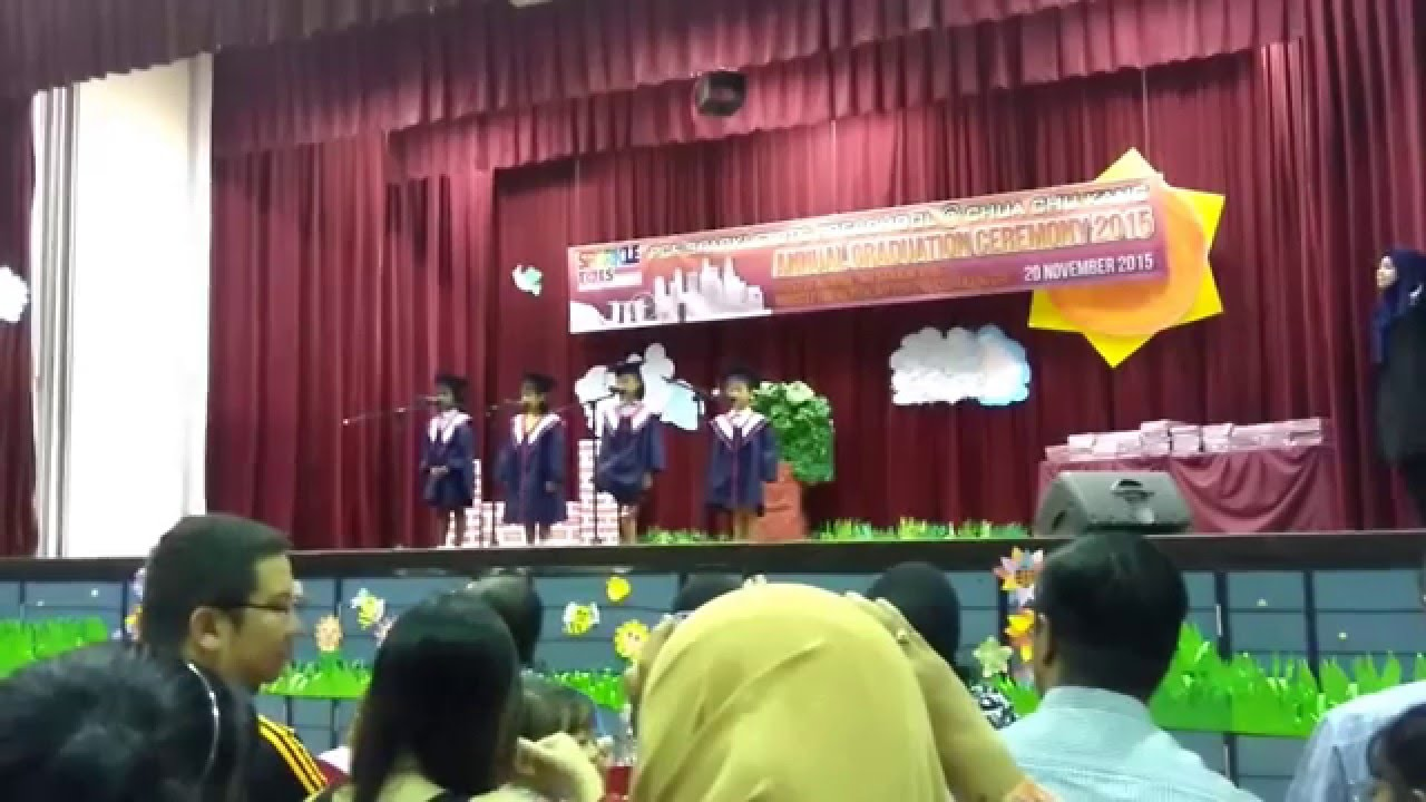 welcome speech for graduation day