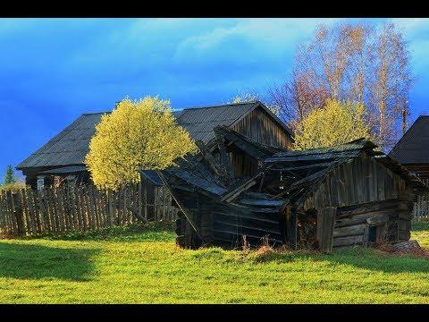 Как живет настоящая деревня Липецкая  область,что случилось потом повергло нас в ШОК.