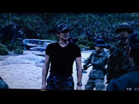 """Shovel fighting in Japanese movie""""AibouⅢ"""".【相棒III】スコップ格闘シーン。"""
