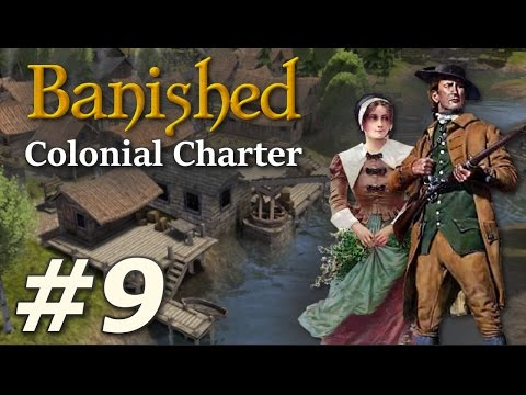 Banished: Colonial Charter (v1.71) - New Cardiff (Part 9)
