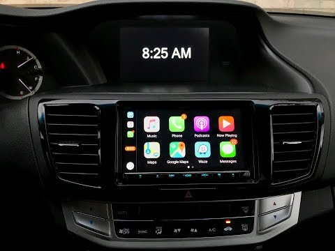 2013 Honda Accord | Kenwood Excelon DDX9904S (Apple Carplay + DVD)