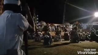 Tarian sakral Baris Due Saking Desa Adat Auman Pelaga Petang Badung
