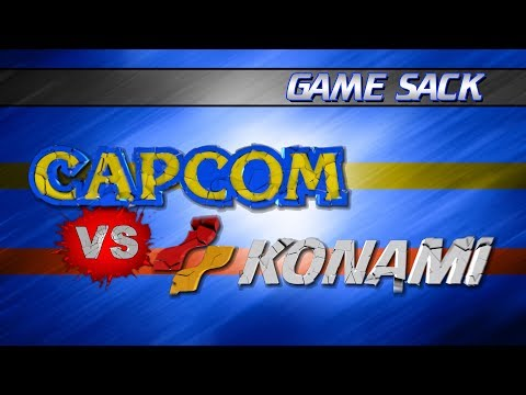 Capcom vs Konami - Game Sack