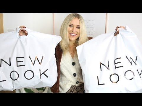 NEW LOOK TRY ON HAUL - AUTUMN/FALL 2018 | Em Sheldon ad