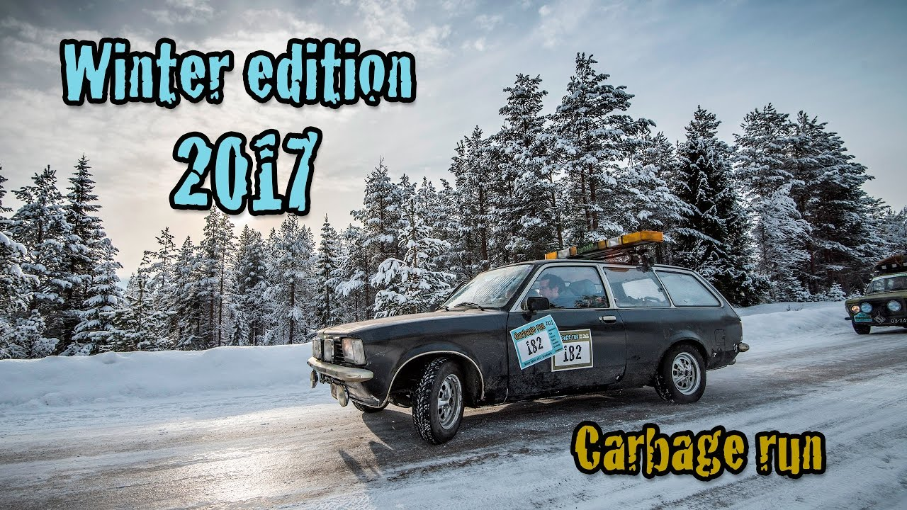Carbage Run Winter Edition 2017 Official Aftermovie