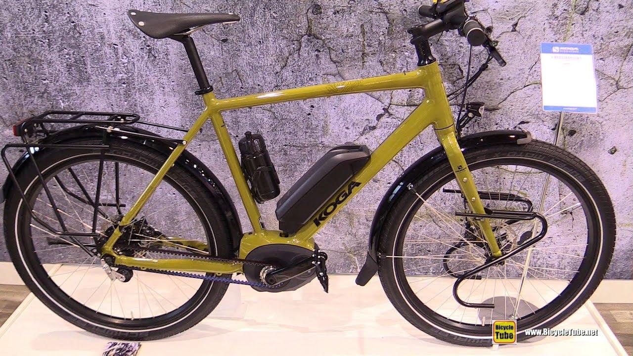 2018 koga e worldtraveller s electric bike walkaround