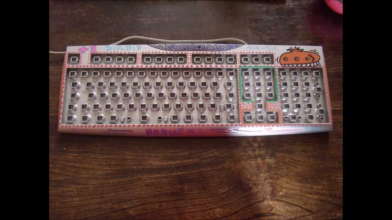 Customisation D 39 Un Clavier Youtube