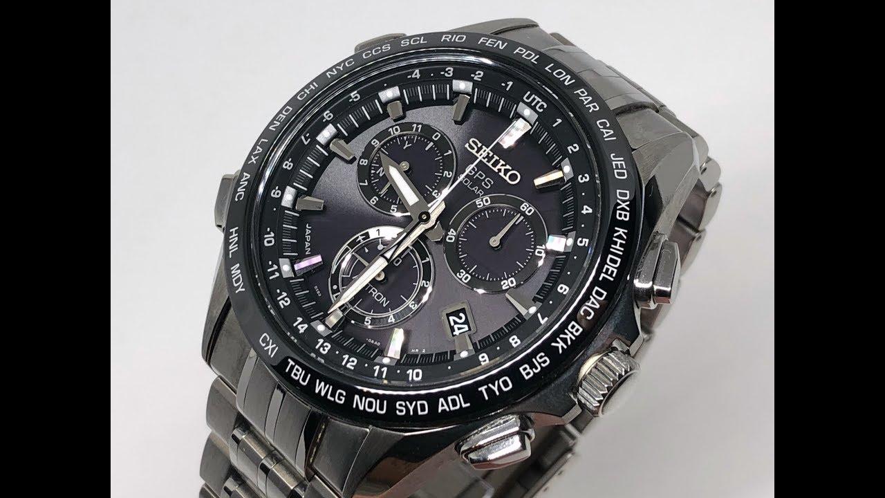 seiko astron gps solar horloge sse003j1