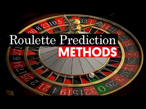 How to predict roulette numbers
