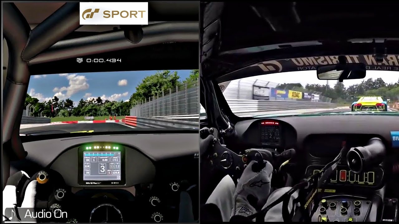Gran Turismo Sport Vs Project Cars 2 Vs REAL LIFE! Amg Gt3