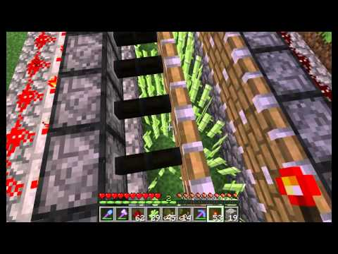 Let's play with Redstone - Episode 1: Industrial farming (sugarcane)
