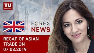 InstaForex tv news: 07.08.2019: China sparks safe-haven assets demand (USDX, JPY, AUD)