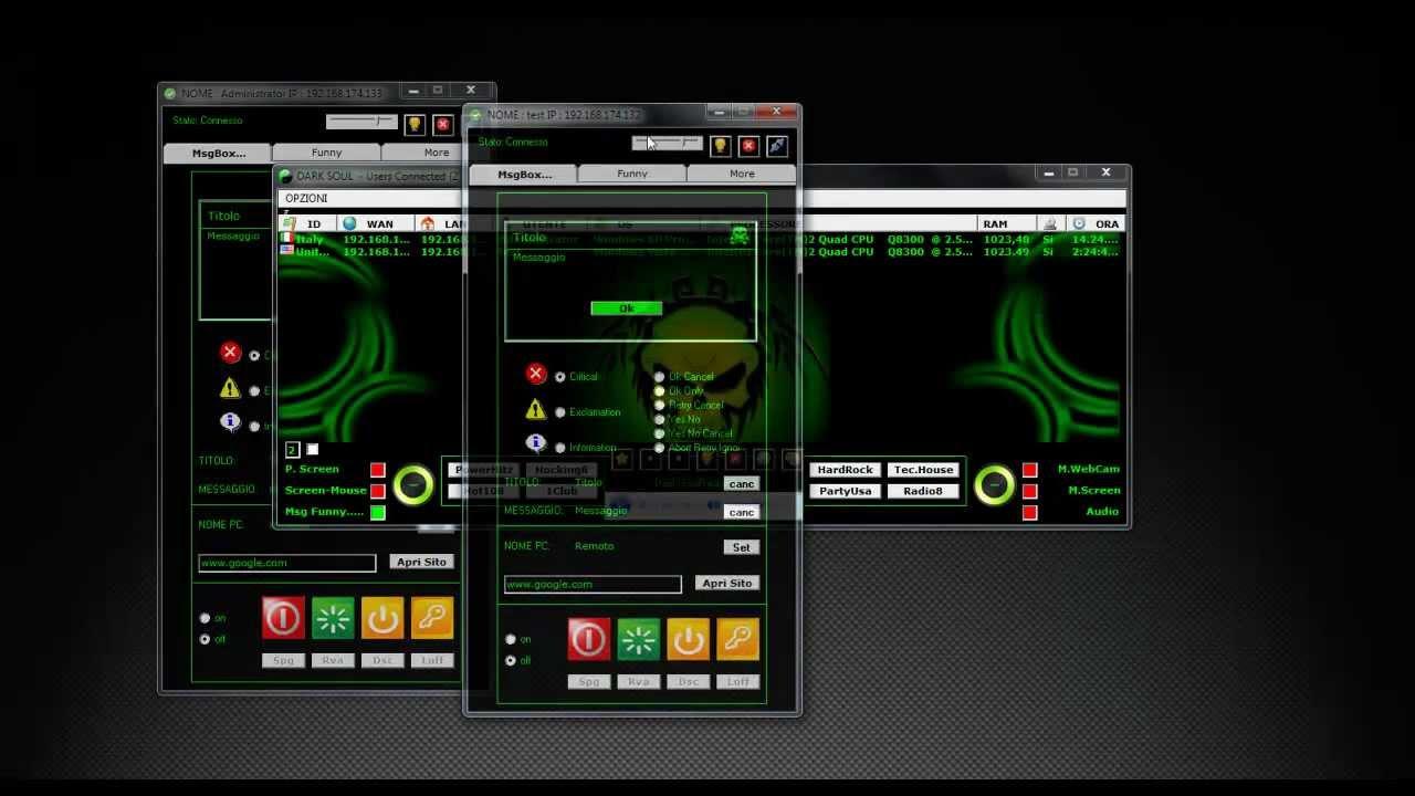 VB6 Client/Server RAT 2012 Preview Dark_Soul_v 1 0 [Client-Server Multi  Control] by Casper