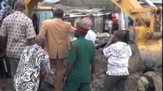 JK atembelea waathirika wa  Mafuriko Buguruni  kwamnyamani Ilala Dar es salaam Machi 24,2015