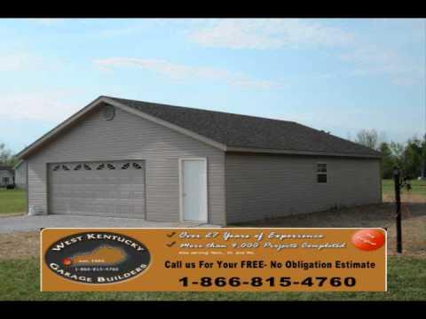 West Kentucky Garage Builders Youtube