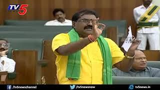 ప్రజా బ్యాలెట్ పెట్టండి -  TDP MLA Ramanaidu Open Challenge to CM Jagan   TV5