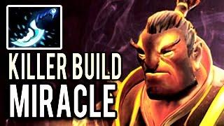 Miracle- Blink Killer Build Ember Spirit 25 Kills Insane Patch 7.03 Dota 2