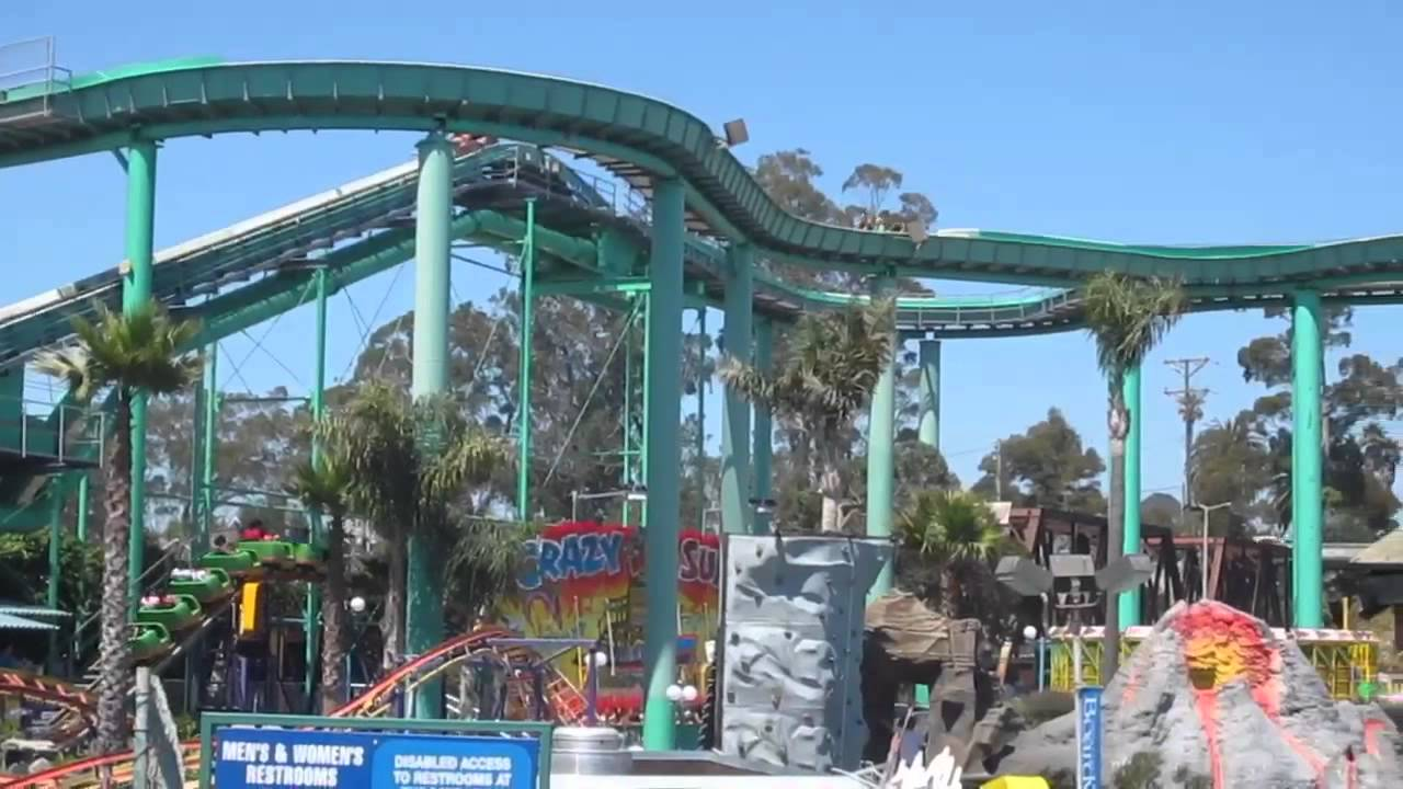 Logger S Revenge Ride Santa Cruz Beach Boardwalk