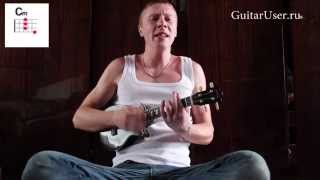 Сектор Газа - Демобилизация (Урок игры на укулеле)