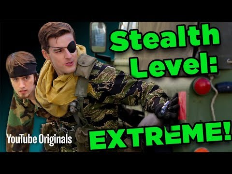 DON'T GET CAUGHT! Stealthing Like Metal Gear Solid - Game Lab