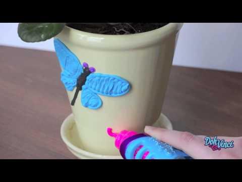 DohVinci DIY Flower Pot Art