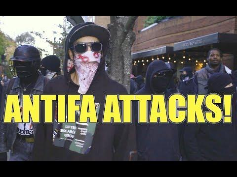 RE-EDIT - Antifa Attacks! #HimToo rally, Portland, OR 11/17/2018