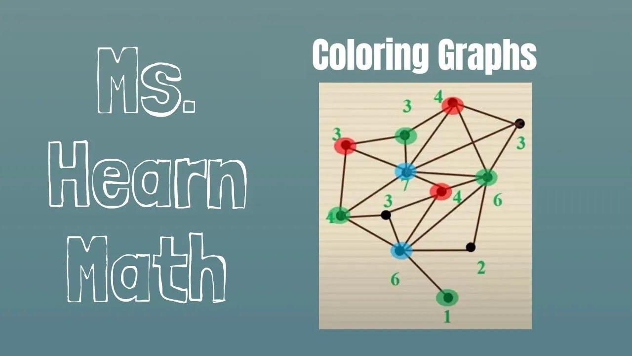 Coloring Graphs Part 2 Coloring Maps The Four Color Problem