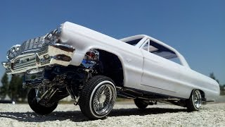 1964 Impala SS lowrider on servos video 7