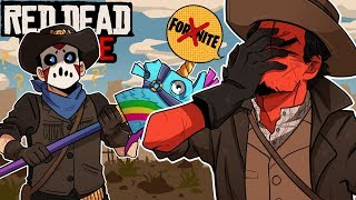 WE AIN'T IN FORTNITE ANYMORE! | Red Dead Online (w/ H2O Delirious)