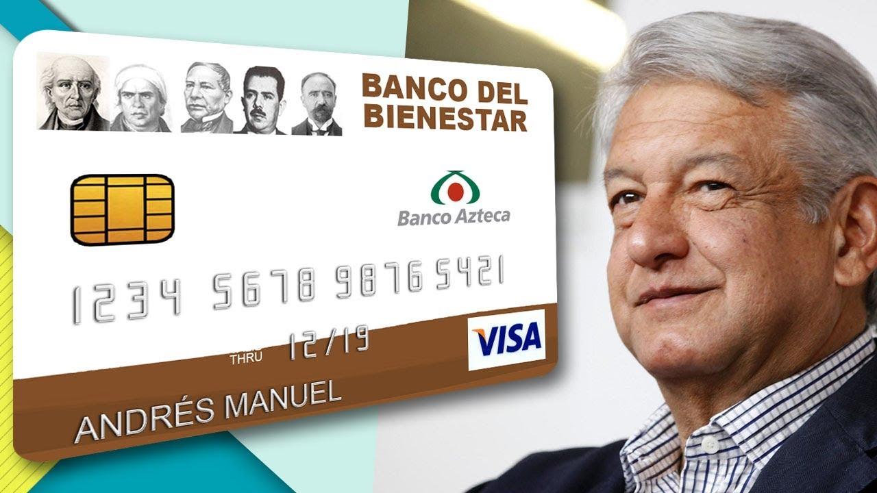 Banco Azteca Operará La Tarjeta De Bienestar De López Obrador