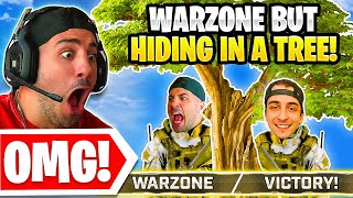 Warzone But We Hide In A Tree! 😮