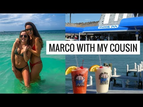 VLOG: BEACH DAY + THE SNOOK INN, MARCO ISLAND  | Molly J Curley