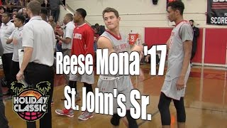 Reese Mona '17, St. John's Senior Year, 2016 UA Holiday Classic