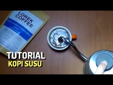 Tutorial - How to make Indonesian Kopi Susu Tubruk
