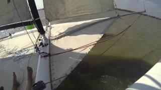 Formula 30 Catamaran First Sail