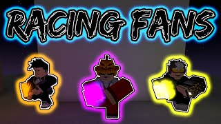 RACING FANS IN ADVANCED TUTORIAL! (ROBLOX Parkour)
