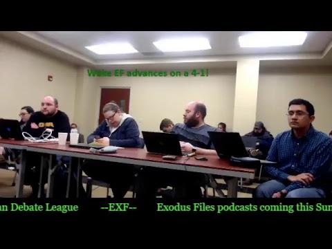 NDT 2018 Round Double Octos Aff: Wake EF vs Neg: Minnesota AL