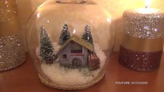 Portacandele  - Centrotavola,  ottimi per addobbare la tavola, Natale fai da te