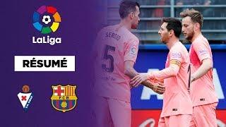 Résumé : Le FC Barcelone termine avec un nul spectaculaire