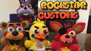 Rockstar Animatronics Plushies! (Custom FNaF6)