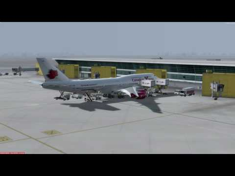 Boeing 747-400 Delhi (VIDP) to Moscow (UUEE) P3D v3.4
