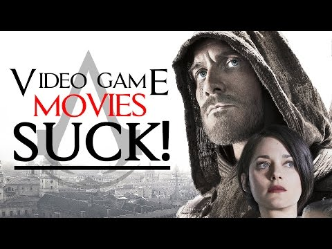 Why Do Video Game Movies Suck? - Enjoy the Show