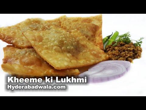 Lukhmi Recipe Video – Learn How to Make Hyderabadi Kheema Lukhmi at Home – Easy and Fast cooking