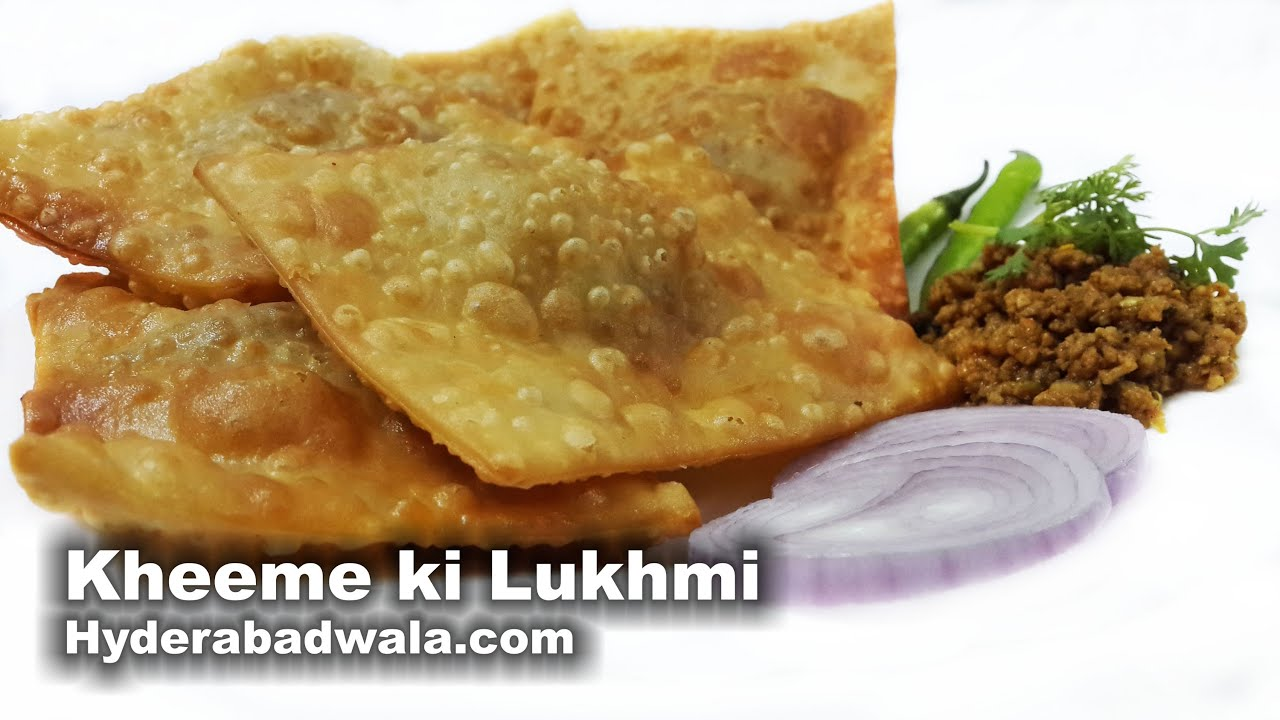 Lukhmi recipe video learn how to make hyderabadi kheema lukhmi lukhmi recipe video learn how to make hyderabadi kheema lukhmi at home easy and fast cooking youtube forumfinder Choice Image